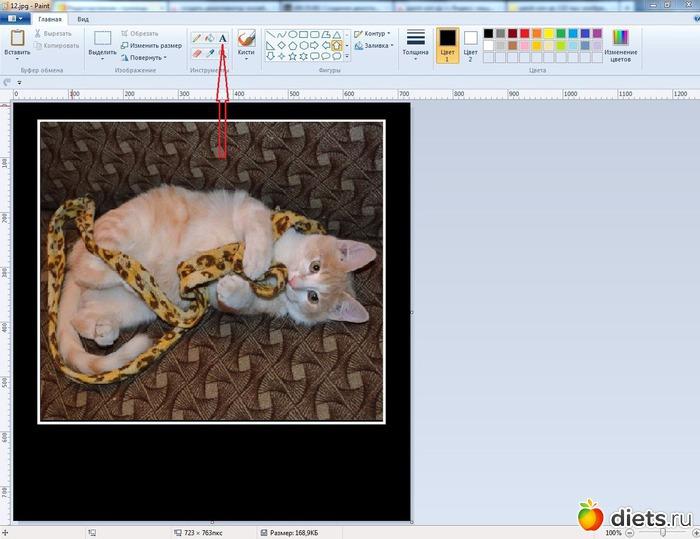 Как сделать надпись на фото или в картинке 18