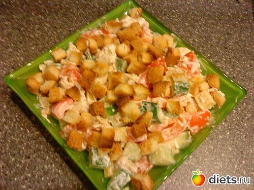 Чем заправить салат с помидорами и курицей