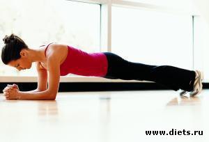 Скачать упражнения для похудения живота