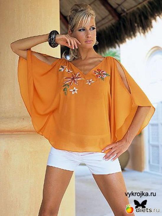 Блузка Из Круга