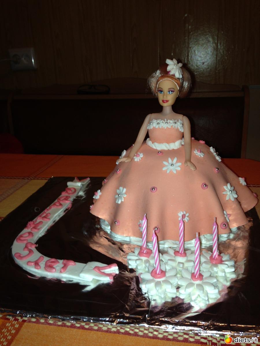 Кукла торт своими руками