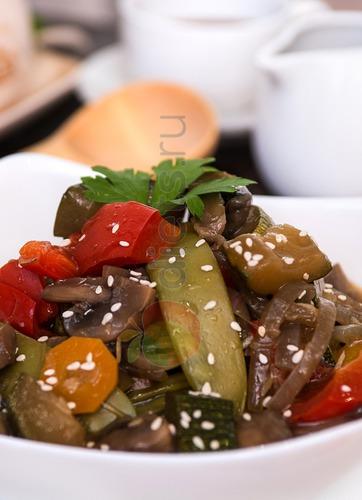 здоровое питание овощи