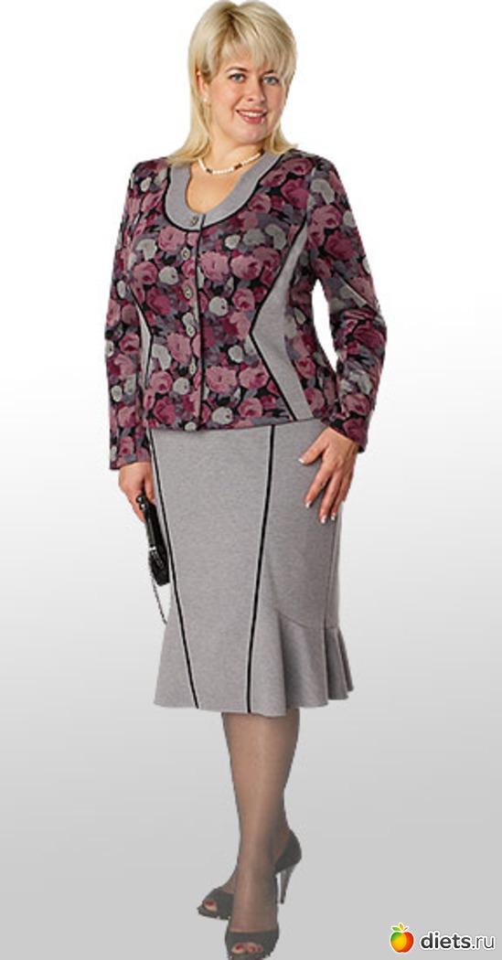 Модели Женской Одежды Для Полных
