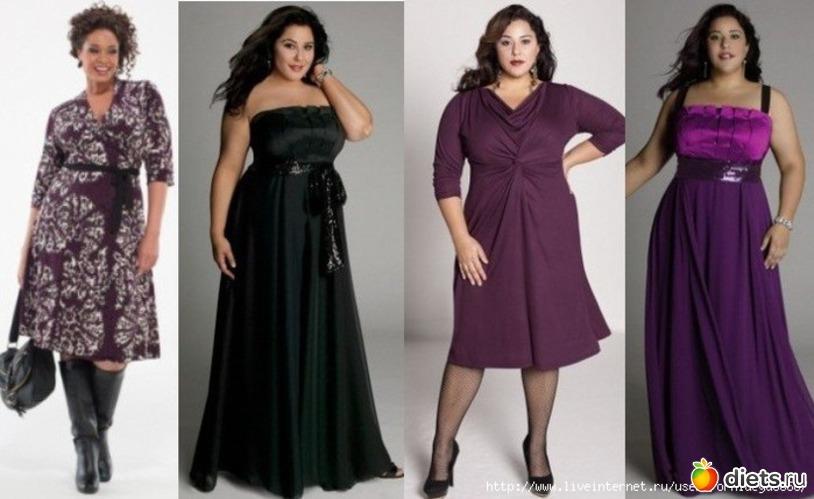 Платье для полных своими руками фото