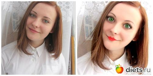Как в фотошопе сделать лицо кукольное