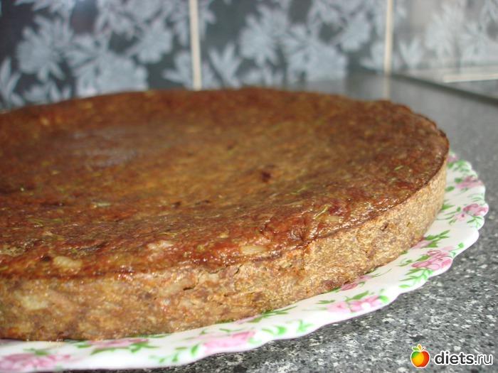 Запеканка с печенью и рисом в духовке