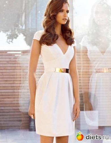 Фото платья белые шикарные