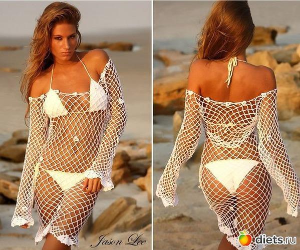 Вязание крючком купальники платья