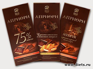 Шоко диета молочный шоколад 3