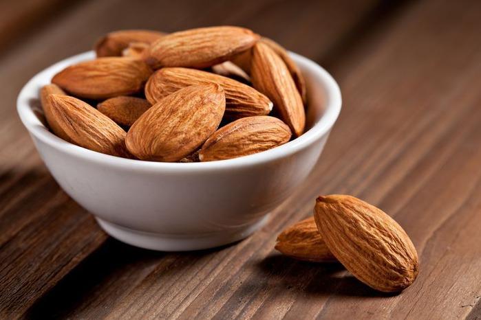Похудения на орехи миндаль