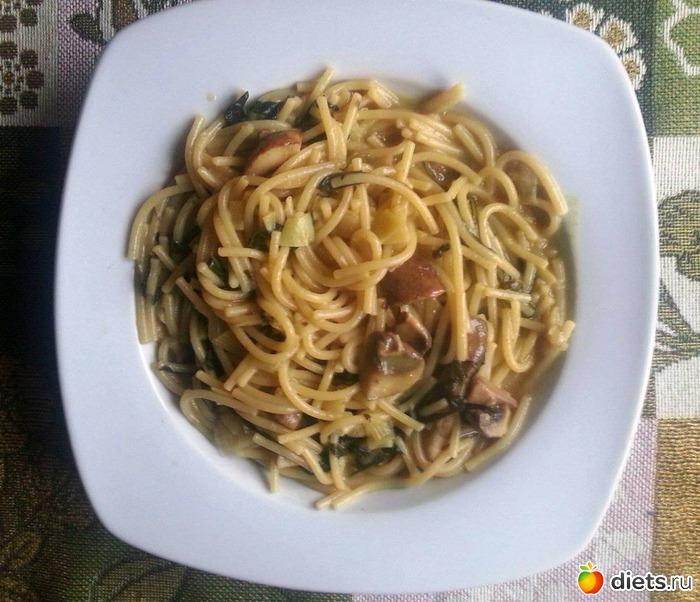Самодельные спагетти