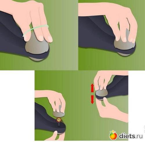 Как снять магнитную бирку в домашних условиях