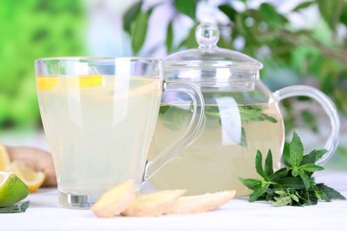 рецепт имбирного чая для похудения медом