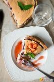 Летний ягодный десерт с меренгой. Вкусная коллекция
