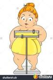 Встала баба на весы, сняв с себя одежду,