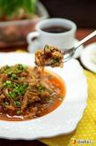 Постная пекинская капуста, тушенная с лисичками. Вкусная коллекция