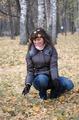Прогулка в осеннем парке)