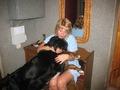 Утренние обнималки с собакой. 2010 г.