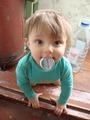 Малышка с крышкой