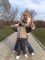 я и мой младший  сыночек Вася
