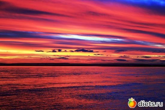 краски заката, альбом: Природа Якутии