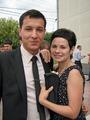 С младшим братом на его свадьбе. Лето 2010.