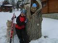 Вот и нашелся пропавший прошлой зимой из нашей команды лыжник ...
