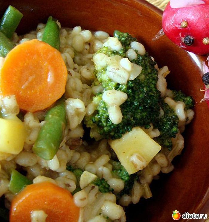 Рецепты С Перловкой Вторые Блюда Для Похудения. Перловка для похудения. Постные рецепты, как приготовить в мультиварке с овощами