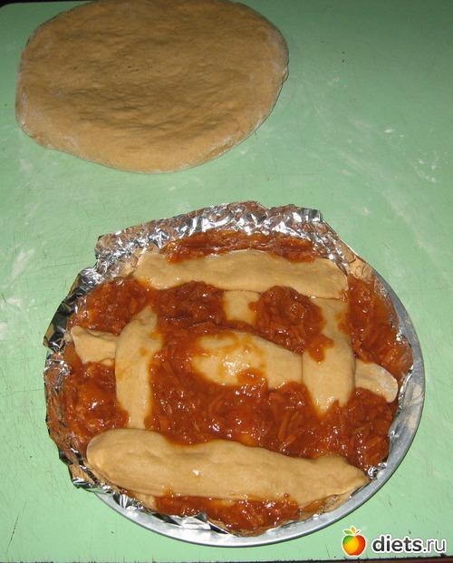 тесто для пирога со сладкой начинкой Вас есть