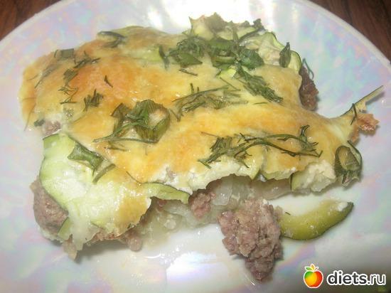 Капустная запеканка с кабачками и мясом, альбом: Я готовлю