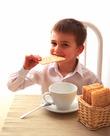 В каких ситуациях можно употреблять вафельный хлеб?