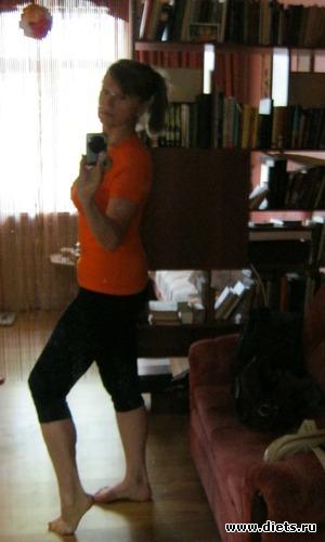 Июнь 2011. После шредов Джиллиан - 68,8 кг, альбом: Я в разных весовых категориях