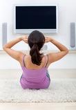 Тренировка  во время просмотра телевизора