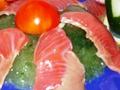 Ингредиенты желе из огурца с рыбой