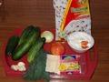 Ингредиенты на запечённые огурцы