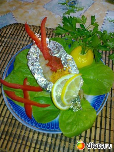 рыба с овощами в фольге, альбом: Мои блюда