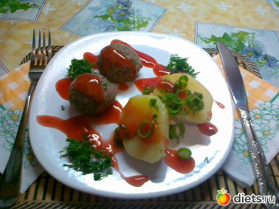 Фрикадельки из куриной печени, альбом: Мои блюда