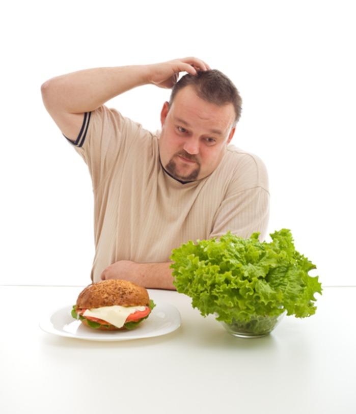 Мужчине похудеть легче