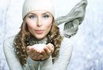 В косметичке - зима