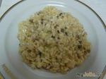 Тушеный рис с овощами и шампиньонами