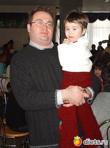 Я с дочкой Лизой . 128 кг, альбом: Я ДО