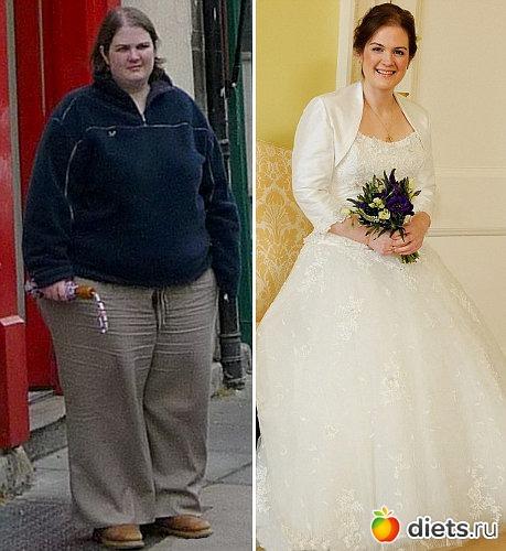 Англичанка похудела на 64 килограмма, чтобы дети могли