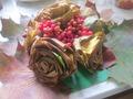 букет из кленовых листьев