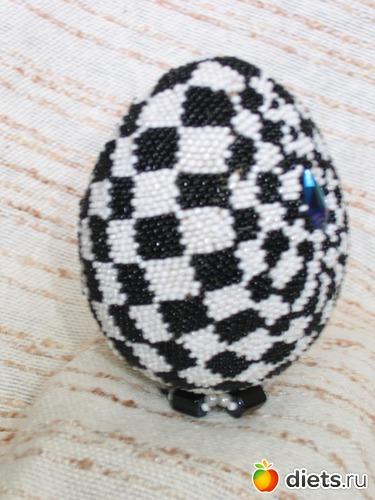 Яйцо пасхальное, альбом: Эксклюзив из бисера и не только