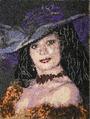 Автопортрет из бисера