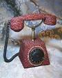 Телефон рабочий.На диске знак качества СССР