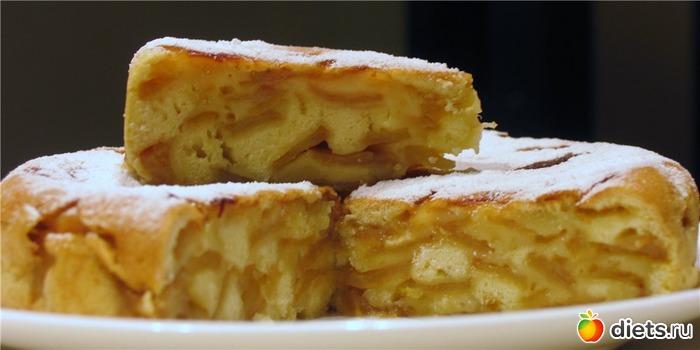 Рецепт шарлотки с яблоками видео в духовке