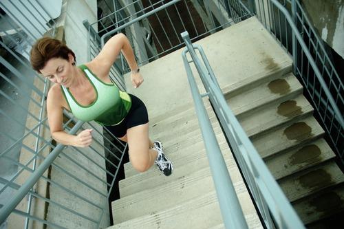 Бег по лестнице для похудения Программа тренировок, видео