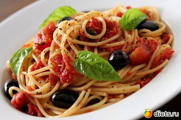 Итальянские блюда из макарон рецепты