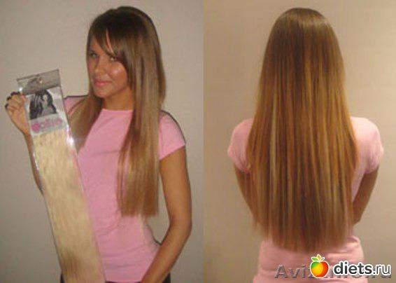 как покрасить накладные натуральные волосы из темног в более светлый